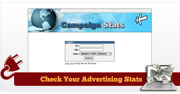 Check Your Advertising Stats