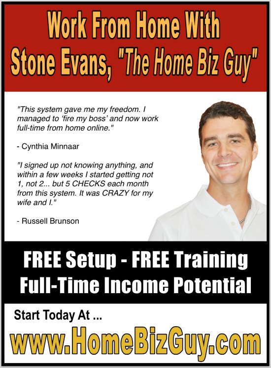 Home Business Magazine Full Page Ad